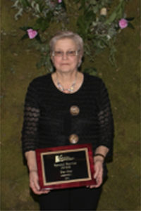 Dee Otto 2016 Special Service Award