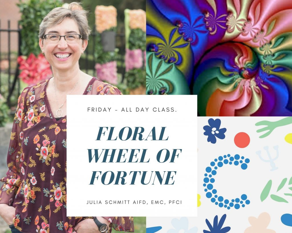 Floral Wheel of Fortune